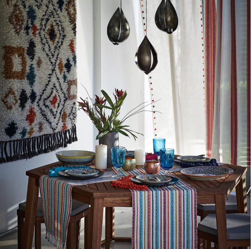 20 Enchanting Bohemian Dining Room Designs | Home Design Lover