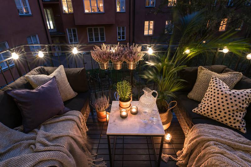 20 dreamy bohemian balcony ideas home design lover for Terrazas ibicencas