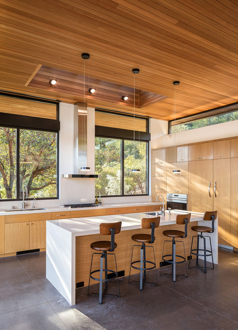 Dry Creek Residence kitchen