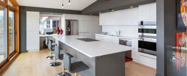 Lovely 20 Remarkable White And Gray Kitchen Designs