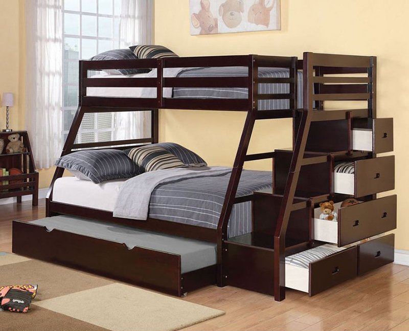 Jason T/F Espresso Bunk Bed