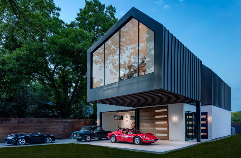 Autohaus: Not Just a Home for a Family, But Also for Cars