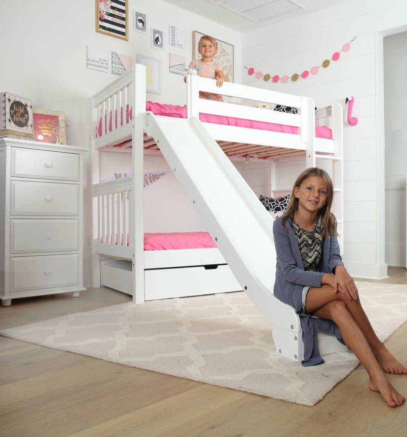 The Jolly - Medium Bunk Bed With Slide