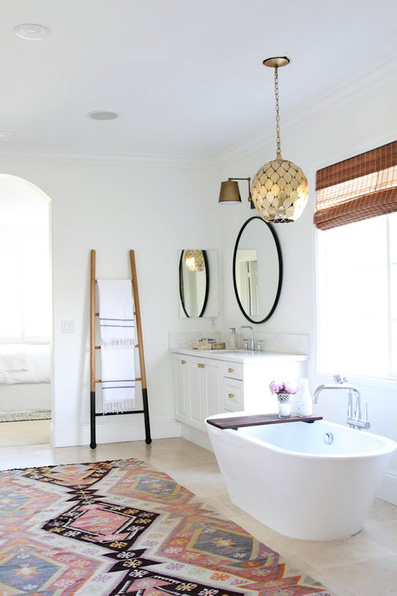 Modern Bohemian Master Bath Retreat