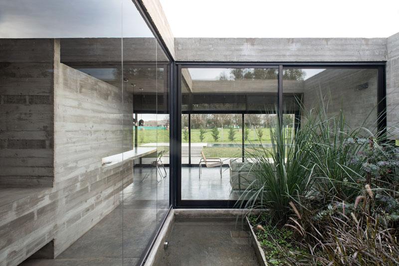 Mach House inner patio