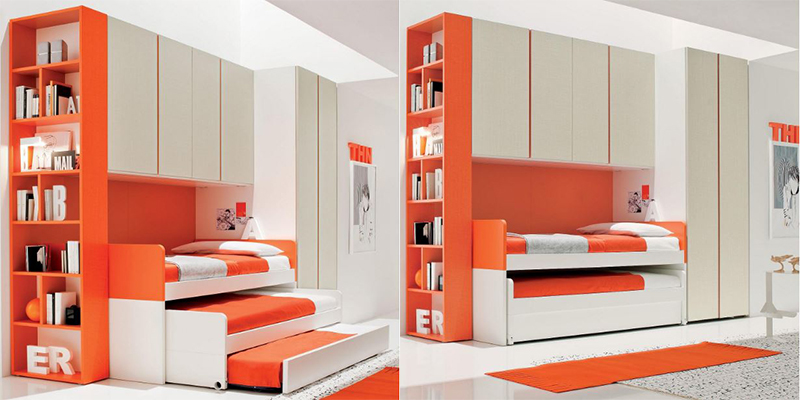Kid's Bedroom Set - Red