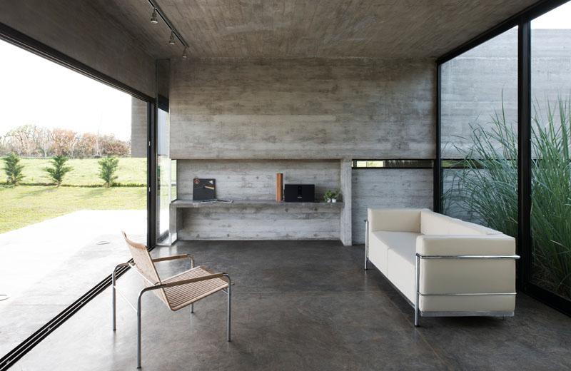 Mach House living room
