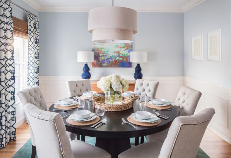 Get the right size and shape of your lighting fixture