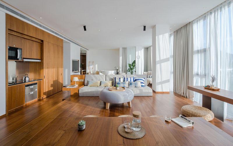 Raised Platform Interior raised living room