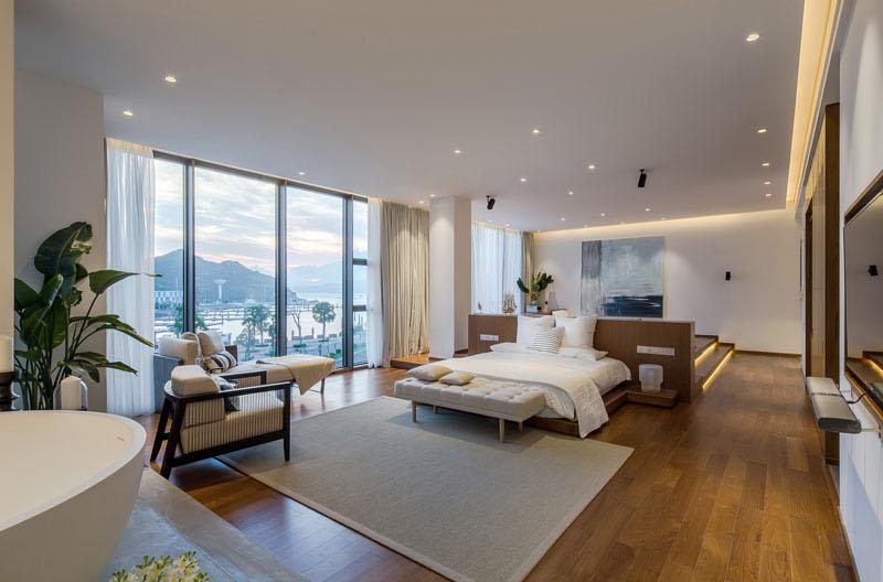 Raised Platform Interior living