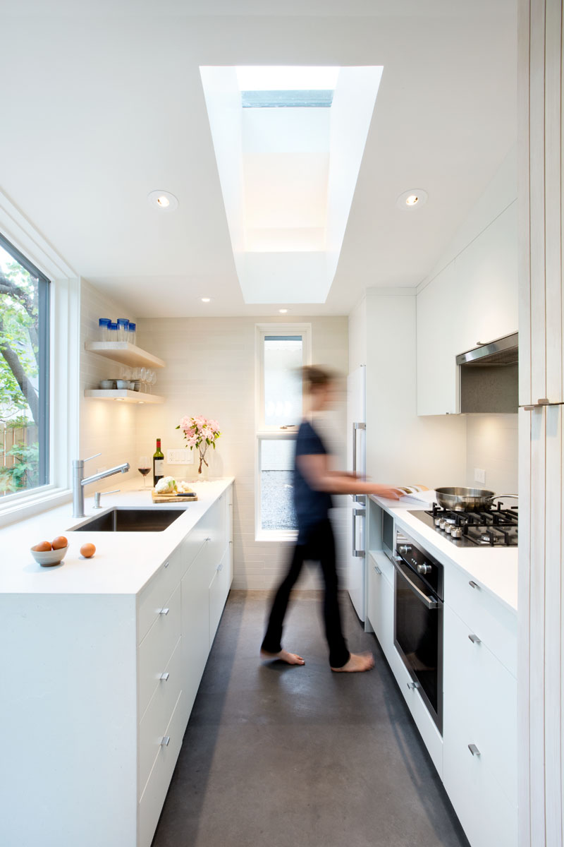 Point Grey Laneway House Kitchen