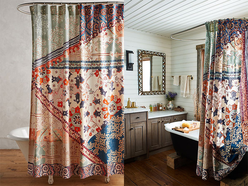 20 Stylish Bohemian Shower Curtain Ideas You Will Love