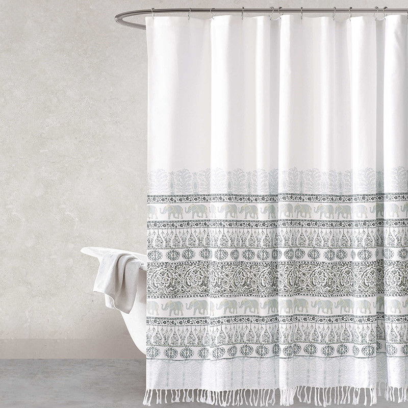 Mindra 72-Inch Shower Curtain in Natural