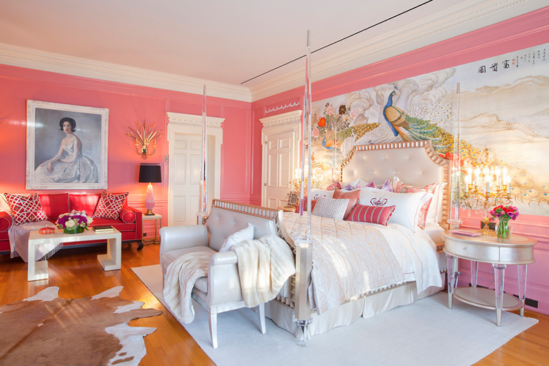 20 Dreamy Peacock Decors in the Bedrooms