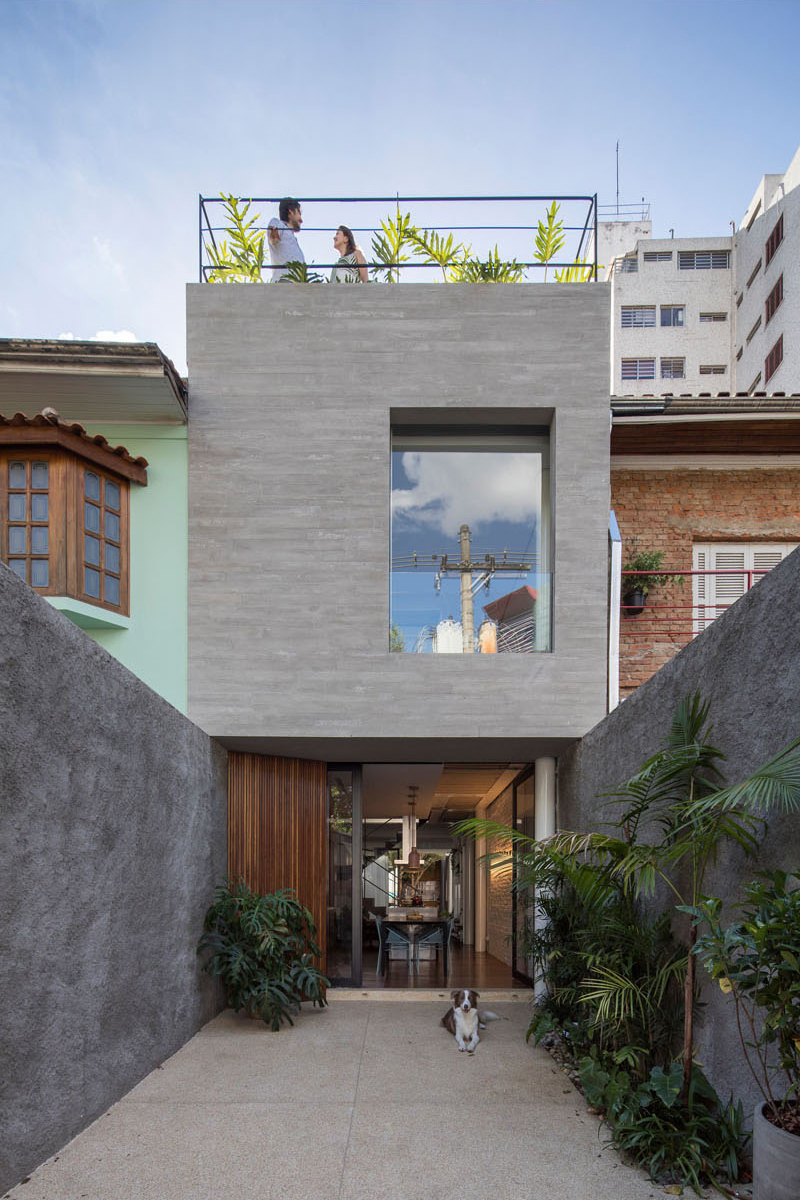 Before and After Transformation of Brazil's Piraja House