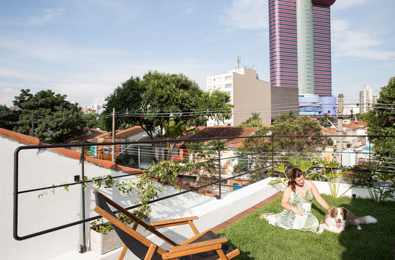 Piraja House roof garden