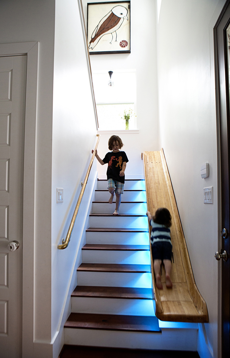 20 Playful And Creative Indoor Slide And Stairs Combination Home Design Lover