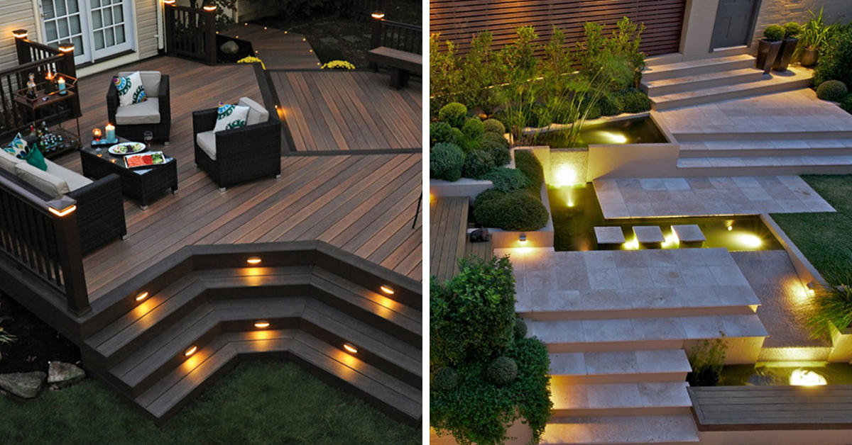 20 Backyard Lighting Ideas You Can Do For Your Homes | Home Design Lover