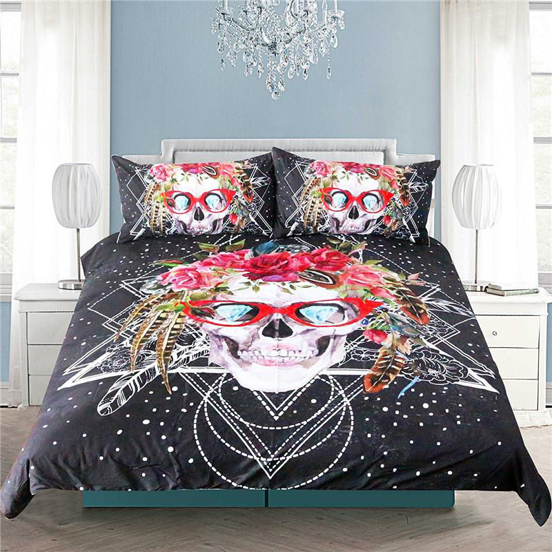 16 Cool Skull Duvet Covers to Bring a Distinct Appeal to Your Bedrooms
