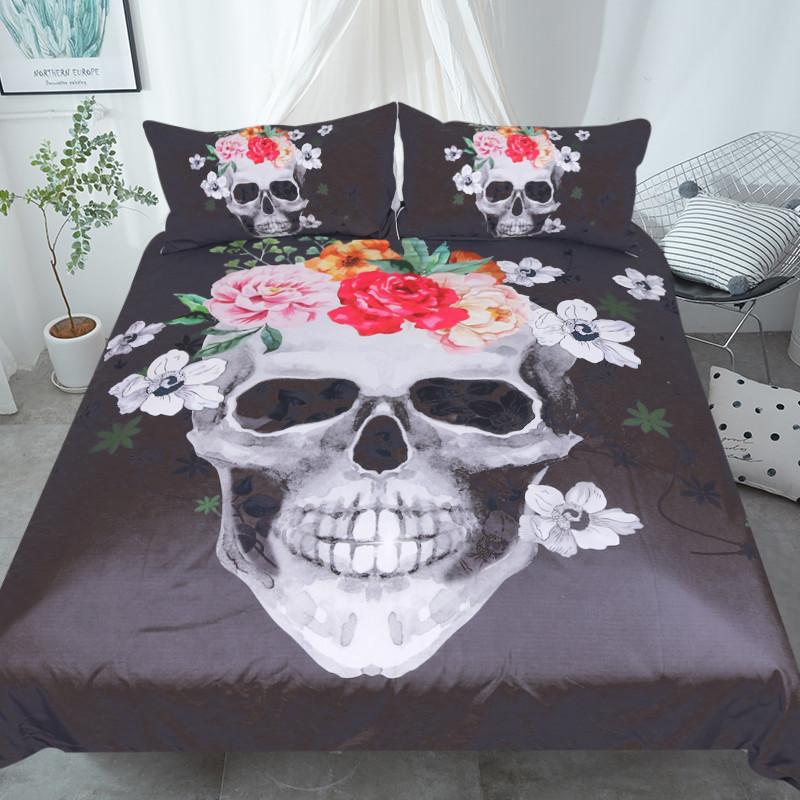 Rosie Skull Duvet Cover