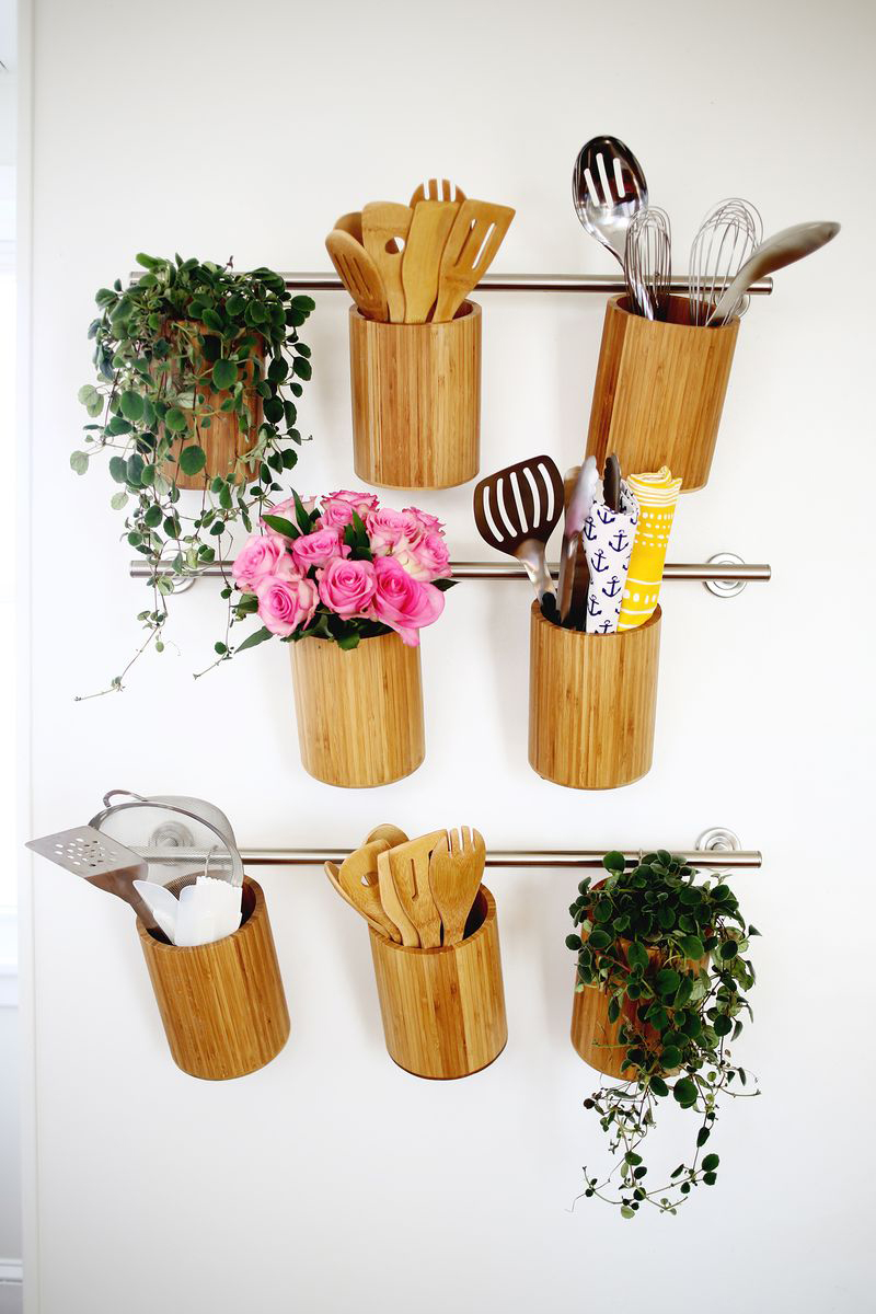 Vertical Kitchen Organization
