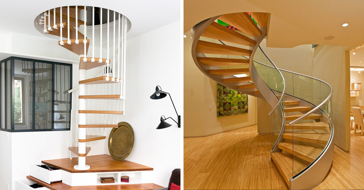 25 Modern Spiral Stairs That Will Bring A Stylish Flare To Your Home Home Design Lover