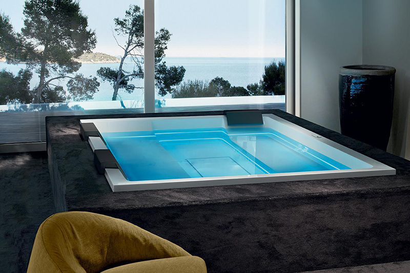 Built-in Hot Tub