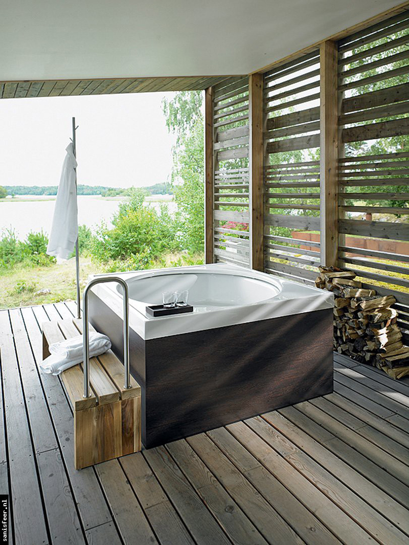 20 Indoor Jacuzzi Ideas And Hot Tubs For A Warm Bath