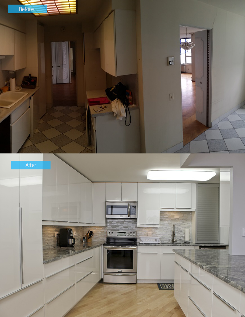 Kitchen Remodel – 6101 N Sheridan, Chicago, IL