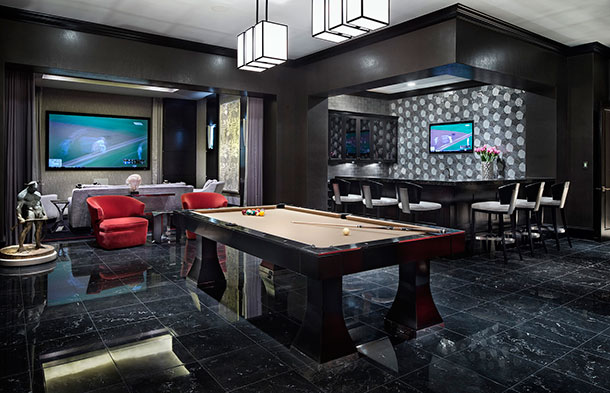 game room ideas: Classic Transitional