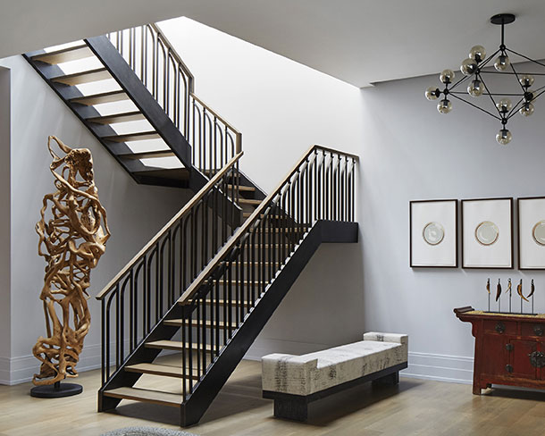 Curved balusters